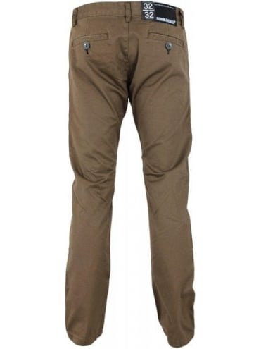 Dr Denim Donk Chino - Coffee