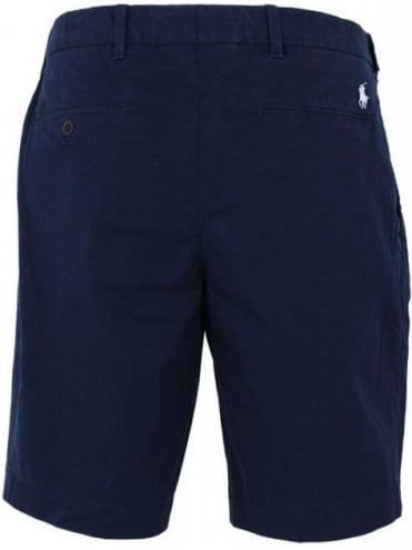 Polo Ralph Lauren Stretch Tissue Chino Shorts - Aviator Navy