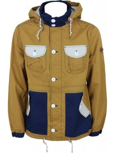 Bellfield Hideout Fisherman Jacket - Mustard