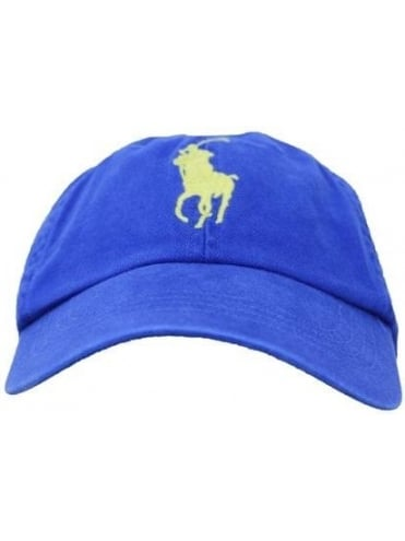 Polo Ralph Lauren Accessories Oversized Polo Player Cap - Sapphire Blue