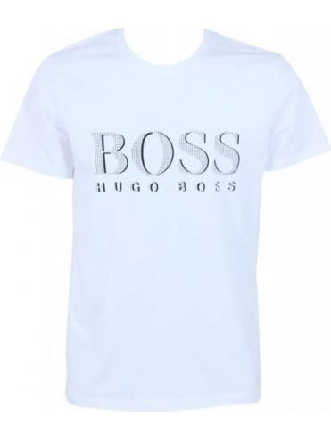 Hugo Boss Bodywear Logo SPF50 T.Shirt - Natural