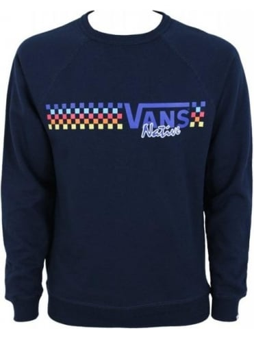 Vans Native Check Crew Sweater - Eclipse