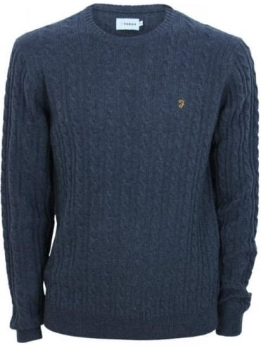 Kirtley Cable Knit - Charcoal
