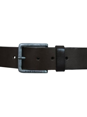 Jeek Leather Belt - Dark Brown