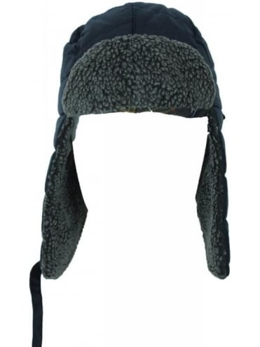 Moorland Trapper Hat - Navy