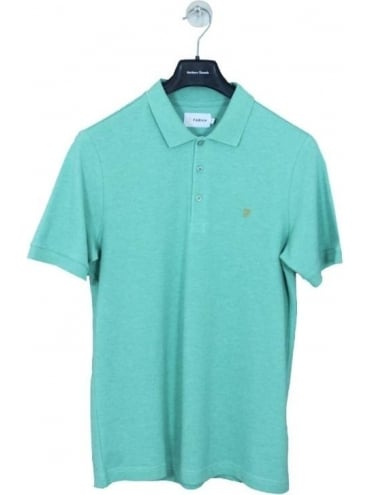 Farah Blaney Polo - Aqua