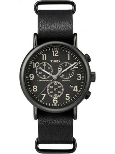 Weekender Chrono Watch - Black