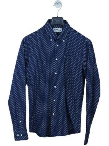 Barbour Curtis Shirt - Navy