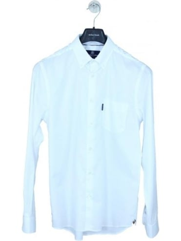 Ashford Oxford Shirt - White