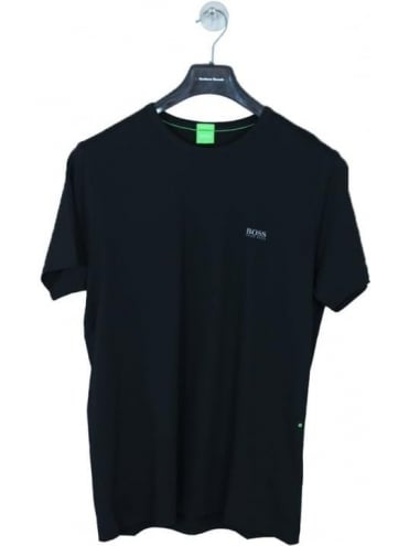 - BOSS Green Basic Logo Crew Neck T.Shirt - Black