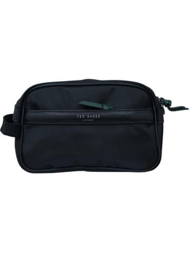 Mandown Wash Bag and Towel Set - Black