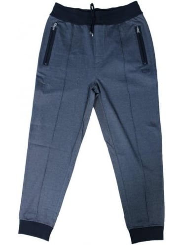 Long Cuffed Pants - Dark Blue