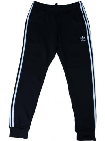 SST Cuffed Track Pants - Black
