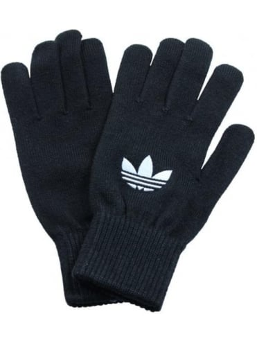 Trefoil Gloves - Black