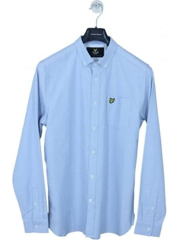 Lyle and Scott Oxford Shirt - Riviera