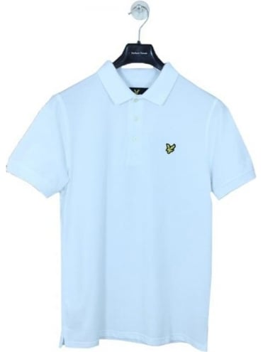 Lyle and Scott Classic Polo Shirt - White