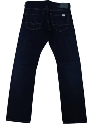 Waitom Regular Fit Jeans - Dark Blue