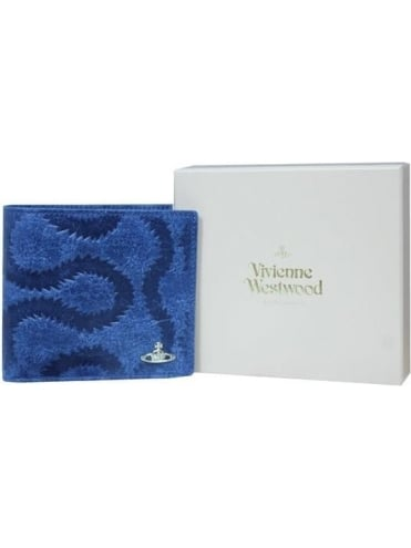 Vivienne Westwood Anglomania Belfast Wallet & Coin Holder - Blue