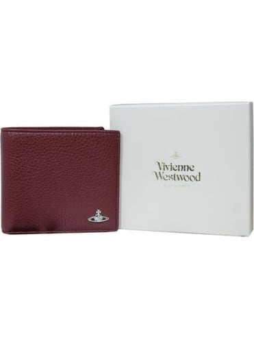 Vivienne Westwood Anglomania Milano Wallet & Coin Holder - Bordeaux