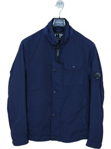 Lens Viewer Overshirt - Aegean Blue