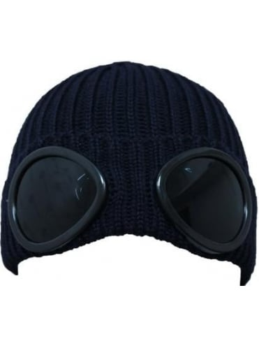 Goggle Hat - Navy