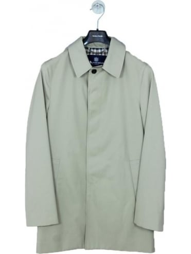 Aquascutum Berkley S/B Raincoat - Camel