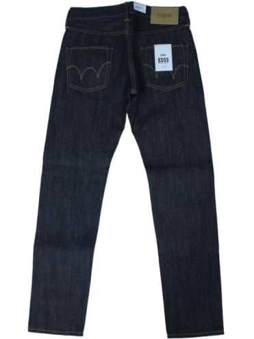 ED55 13.5 Oz. Tapered Jeans - Unwashed