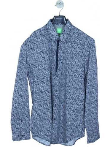 Boss Green Berla Shirt - Navy
