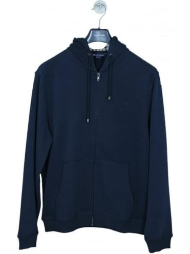 Luther Hooded Sweat - Navy