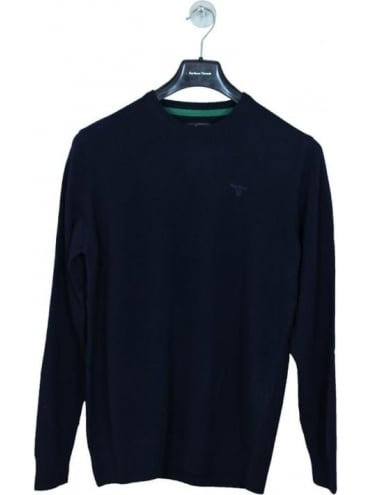 Essential Lambswool Knit - Navy
