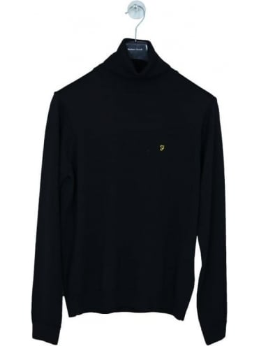 Farah Gosforth Knit - Black