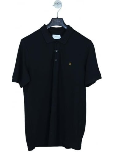 Farah Blaney Polo - Black