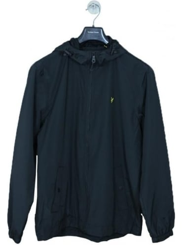 Lyle and Scott Through Hooded Jacket - Navy