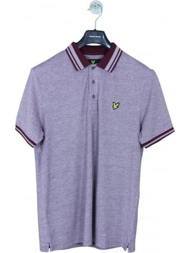 Lyle and Scott Oxford Polo - Claret
