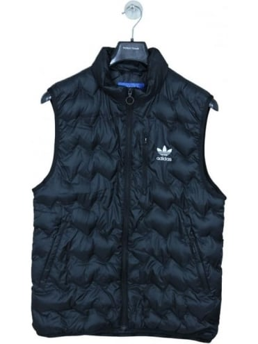 adidas Originals Serrated Vest - Black
