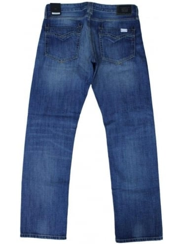 Newbill Regular Straight Jeans - Light Blue