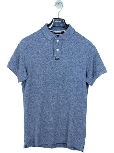 Superdry Classic Grindle Pique Polo - Navy