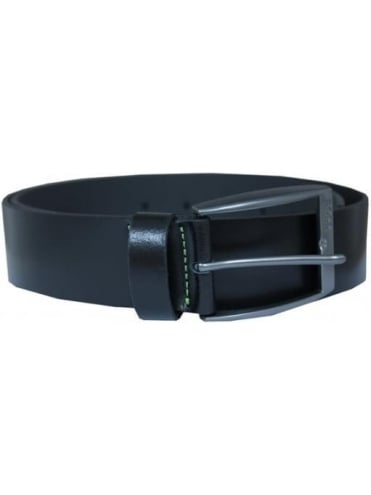 HUGO BOSS - BOSS Green Tebe SZ40 Leather Belt - Black