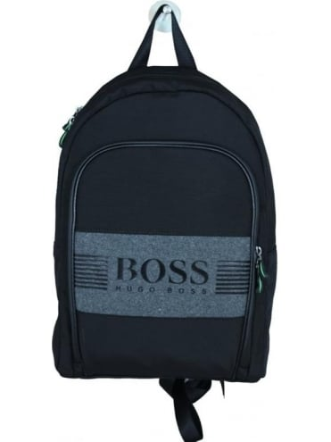 HUGO BOSS - BOSS Green Pixel Backpack - Black