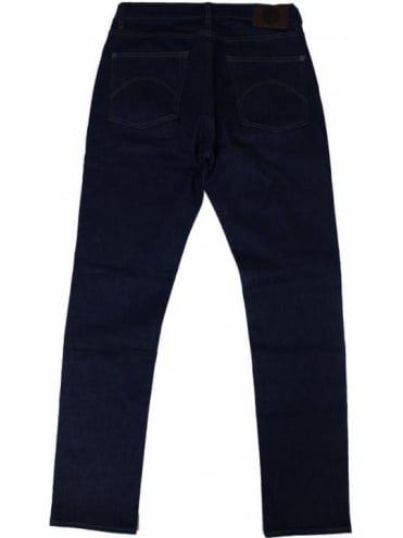 Pretty Green Erwood Slim Fit Jeans - Rinse Wash