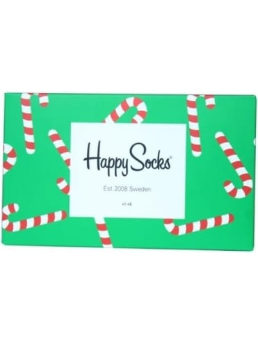 Happy Socks Holiday 3 Pack Box - Green