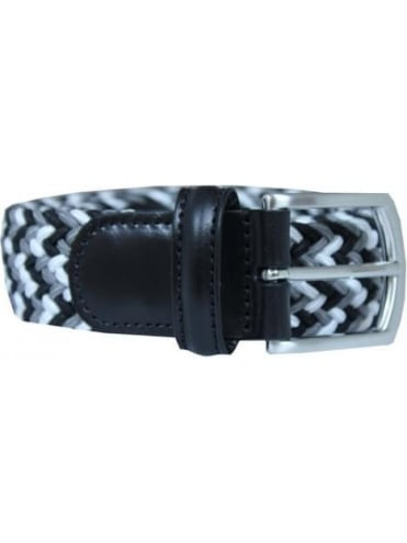 Anderson's Woven Textile Belt - Black And White