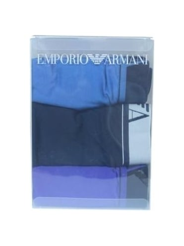 Emporio Armani 3 Pack Boxer - Ink
