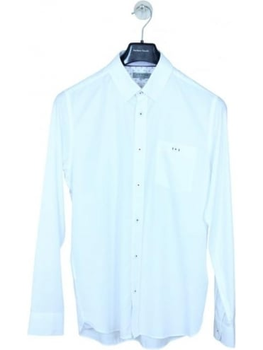 Ted Baker The Monk Oxford Shirt - White