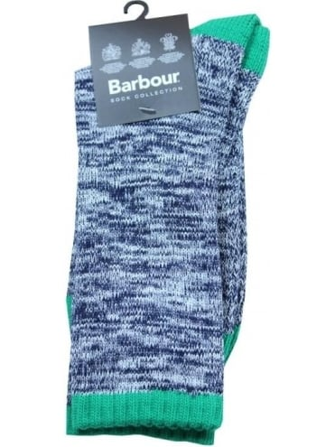 Barbour Kendal Socks - Navy