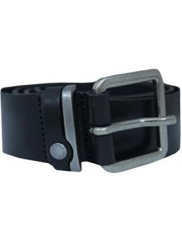 Ted Baker Katchup Leather Belt - Black