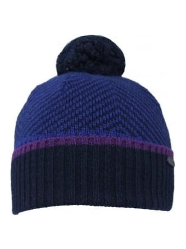 Ted Baker Archat Twill Knit Bobble Hat -