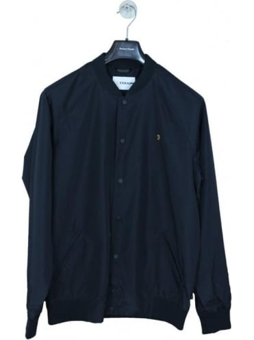 Farah Bellinger Bomber Jacket - Black