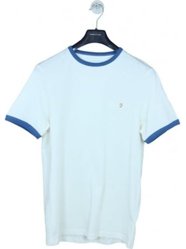 Farah Groves Ringer T.Shirt - Ecru