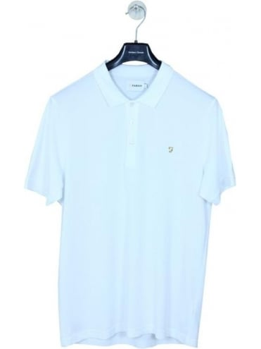 Farah Blaney Polo - White